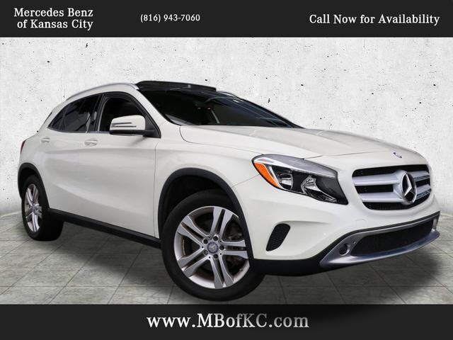 2016 Mercedes-Benz GLA 250 4MATIC® SUV Kansas City MO