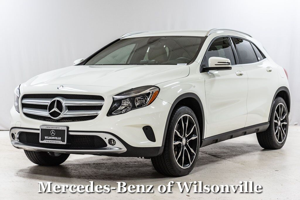 2016 Mercedes-Benz GLA GLA 250 4MATIC® SUV Wilsonville OR