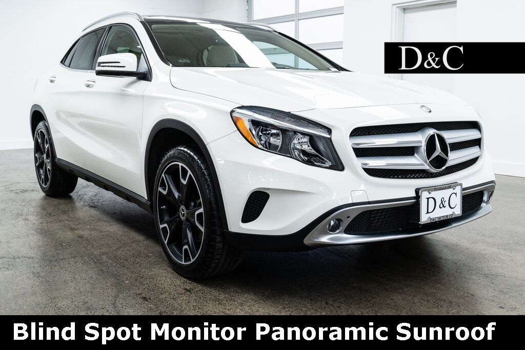 2016 Mercedes-Benz GLA GLA 250 Blind Spot Monitor Panoramic Sunroof Portland OR