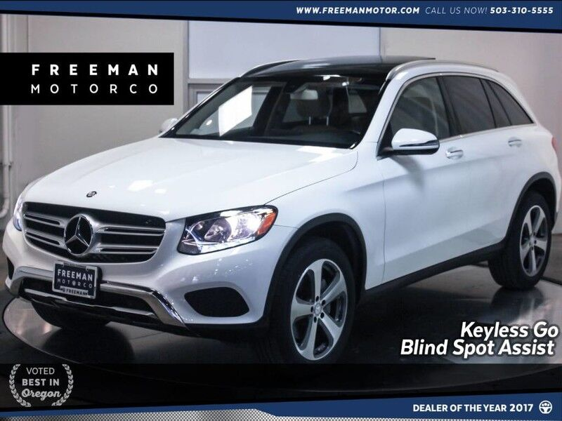 2016 Mercedes-Benz GLC 300 4MATIC Blind Spot Asst Back-Up Cam Nav Pano Portland OR