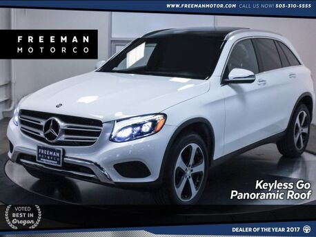 2016_Mercedes-Benz_GLC 300_4MATIC Pano Blind Spot Assist Vented Front Seats_ Portland OR