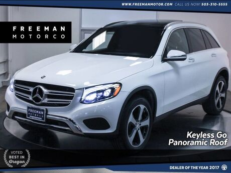 2016 Mercedes-Benz GLC 300 4MATIC Pano Blind Spot Assist Vented Front Seats Portland OR