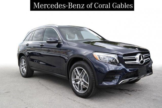 2016 Mercedes-Benz GLC 300 4MATIC® SUV Coral Gables FL