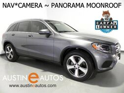 2016_Mercedes-Benz_GLC 300_*NAVIGATION, PANORAMA MOONROOF, BLIND SPOT ASSIST, BACKUP-CAMERA, KEYLESS-GO, HEATED SEATS, POWER LIFTGATE, BLUETOOTH_ Round Rock TX