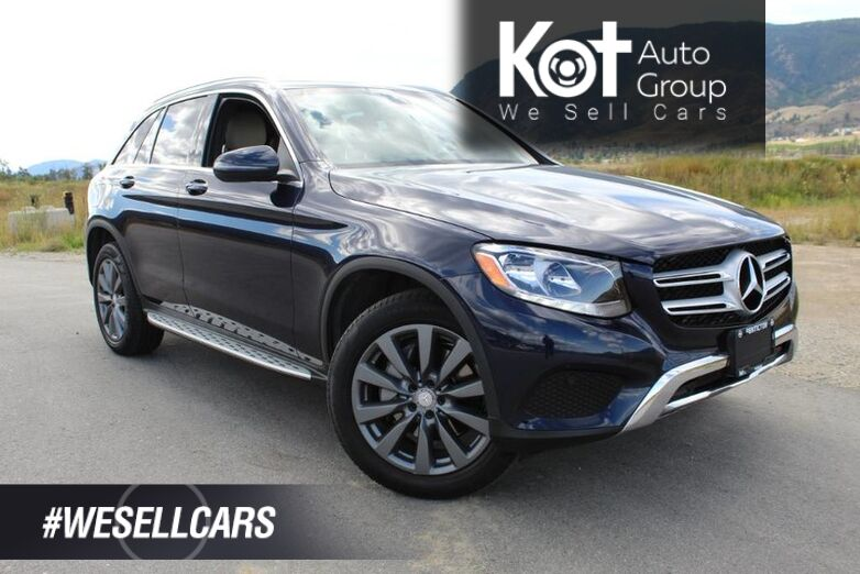 2016 Mercedes-Benz GLC GLC 300, Heated Front Seats, One Owner Kelowna BC