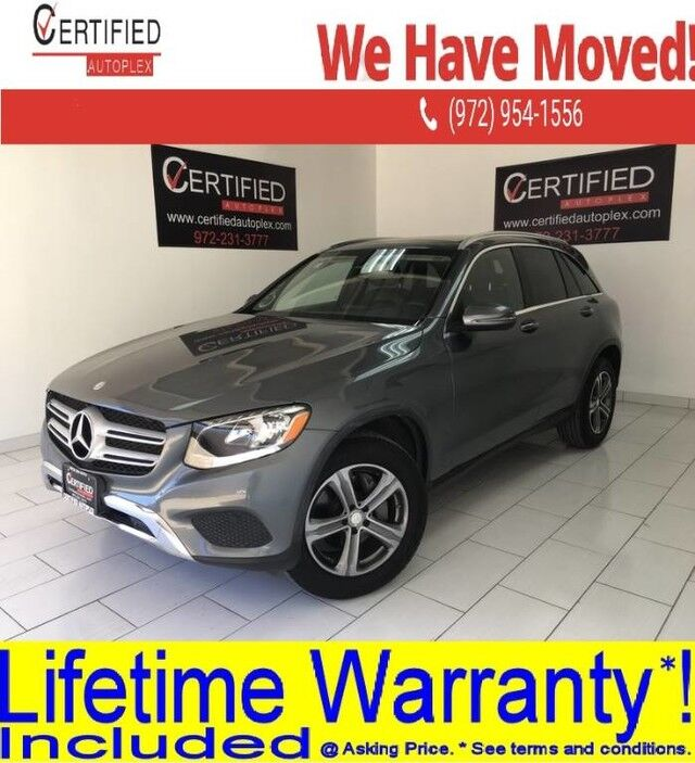 2016 Mercedes-Benz GLC300 PREMIUM PKG PANORAMIC ROOF BLIND SPOT ASSIST REAR CAMERA BURMESTER SURROUND Dallas TX
