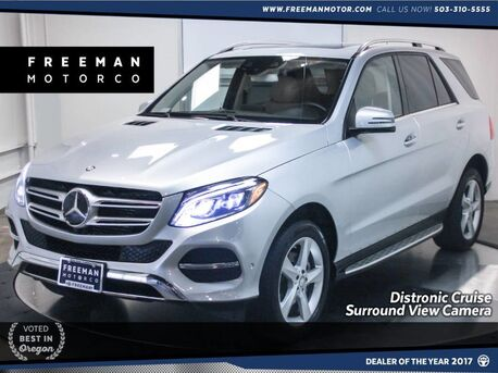 2016_Mercedes-Benz_GLE 300D_Diesel 4MATIC Surround Camera Lane/Blind Spot Assist_ Portland OR