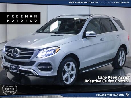 2016 Mercedes-Benz GLE 350 4MATIC Adaptive Cruise Park Assist Blind Spot Assist Portland OR