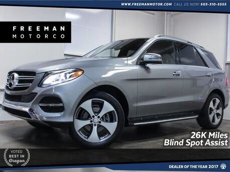 2016_Mercedes-Benz_GLE 350_4MATIC Blind Spot Assist Backup Cam_ Portland OR