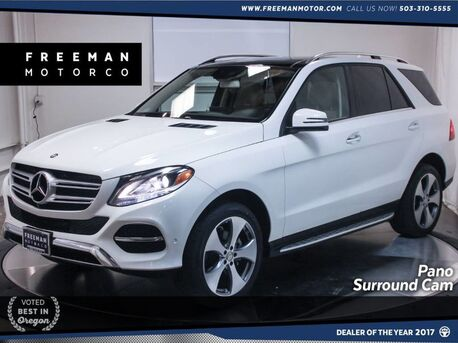 2016_Mercedes-Benz_GLE 350_4MATIC Keyless Go Pano Roof Surround View Camera_ Portland OR