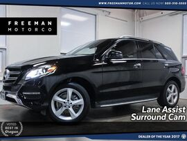 2016 Mercedes-Benz GLE 350 4MATIC Parktronic Surround Cam Lane Assist