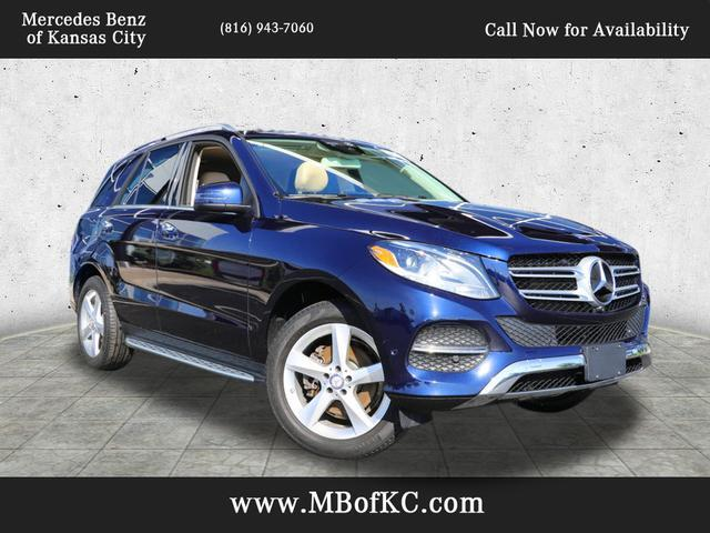2016 Mercedes-Benz GLE 350 4MATIC® SUV Kansas City MO