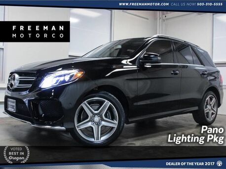 2016_Mercedes-Benz_GLE 400_4MATIC Pano Lighting Package Surround Cam_ Portland OR