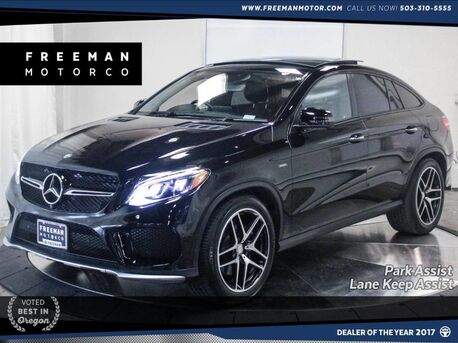 2016_Mercedes-Benz_GLE 450_AMG Coupe AWD Surround View Cam Park Assist Pano_ Portland OR