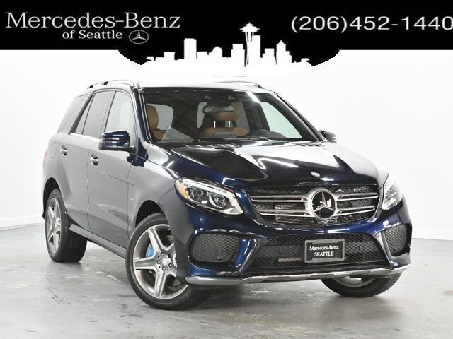 2016 Mercedes-Benz GLE 4MATIC® 4dr  550e Seattle WA