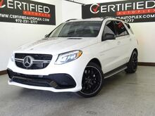2016_Mercedes-Benz_GLE 63_AMG 4MATIC Premium Package Distronic Plus Assist Lighting Package Parking_ Carrollton TX