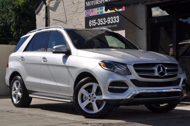 2016 Mercedes-Benz GLE-Class GLE 350 4Matic/Prem 01 Pkg w/ Keyless Go, Navigation, Blind Spot Assist, Lane Keeping Assist, Pre-Safe Collision Detection, Apple CarPlay & Android Auto/Panorama Roof/Illuminated Front Door Sills Nashville TN