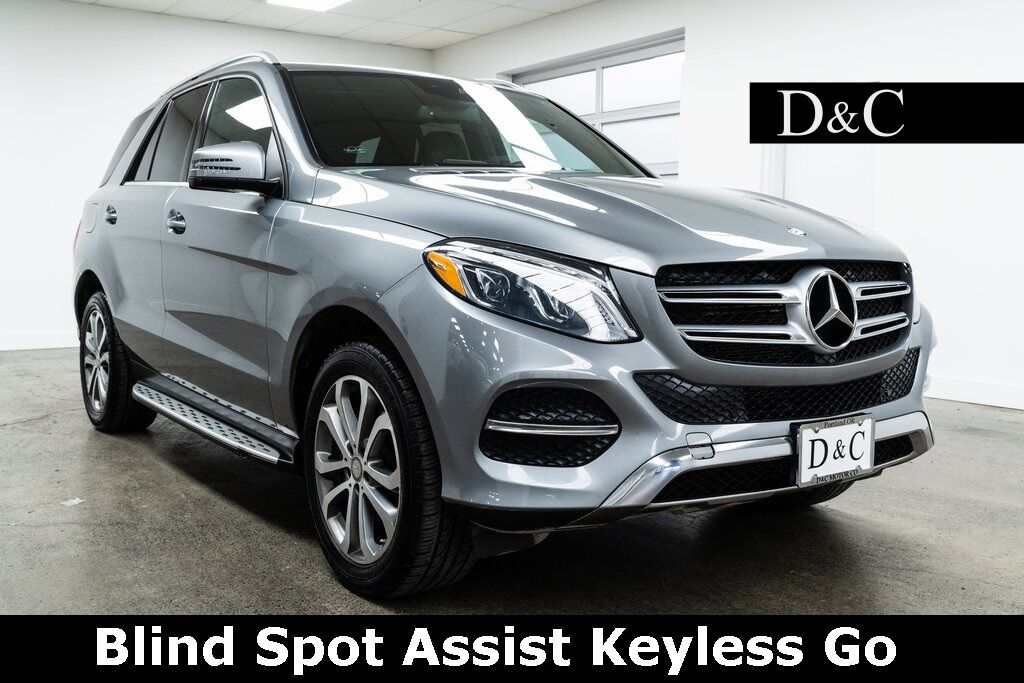 2016 Mercedes-Benz GLE GLE 350 4MATIC Blind Spot Assist Keyless Go Portland OR