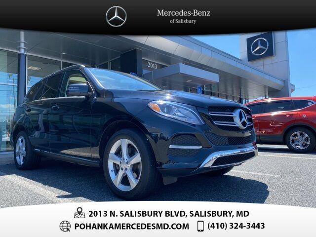 2016 Mercedes-Benz GLE GLE 350 4MATIC®** Pohanka 6 Month / 6,000 Warranty** Salisbury MD