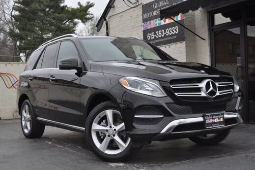 2016 Mercedes-Benz GLE GLE 350 4Matic/Premium 01 Package w/ Keyless Go, Navigation, Blind Spot Assist, Lane Keeping Assist, Pre-Safe Collision Detection, Apple CarPlay & Android Auto/Illuminated Front Door Sills Nashville TN