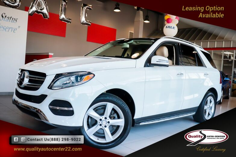 2016 Mercedes-Benz GLE GLE 350 Panoramic Roof Running Boards Premium Package Navigation Harman Kardon System Tow Hitch Springfield NJ