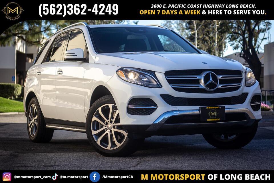 2016_Mercedes-Benz_GLE_GLE 350 Sport Utility 4D_ Long Beach CA