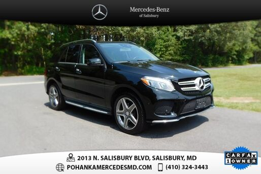2016_Mercedes-Benz_GLE_GLE 400 4MATIC®_ Salisbury MD