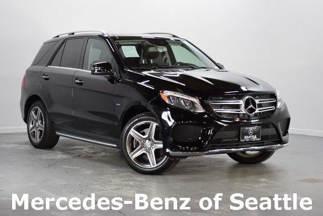 2016 Mercedes-Benz GLE GLE 550 Hybrid 4MATIC® Seattle WA