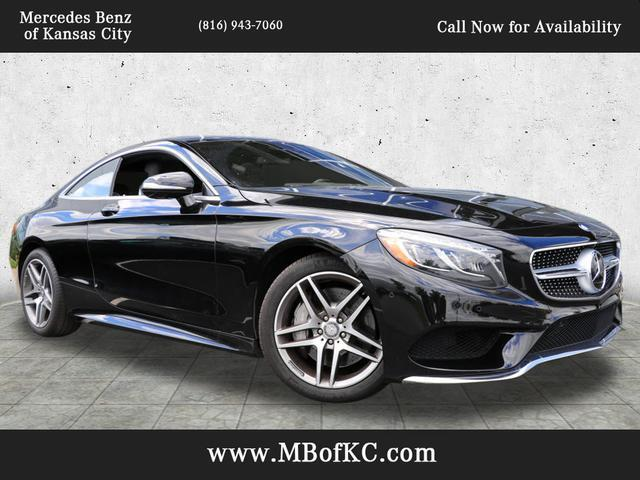 2016 Mercedes-Benz S 550 4MATIC® Coupe Kansas City MO