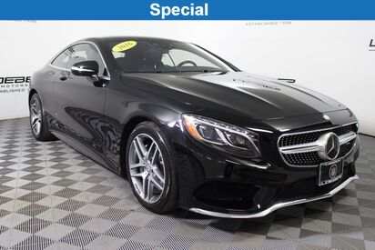 2016 Mercedes-Benz S 550 4MATIC® Coupe