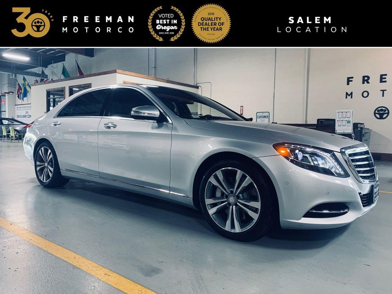2016 Mercedes-Benz S 550 4MATIC Distronic Plus Head-Up Display Parktronic Salem OR