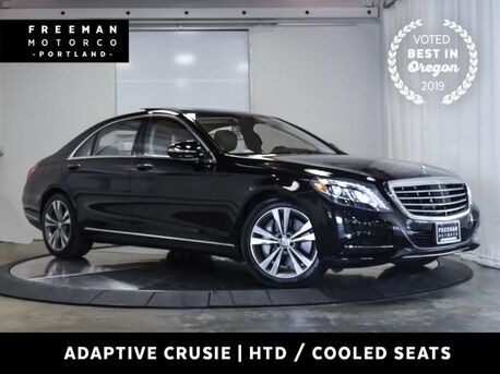 2016_Mercedes-Benz_S 550_4MATIC Keyless Go Surround Cam Distronic Cruise_ Portland OR