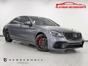 Mercedes-Benz S-Class 2 Owner S63 Tribute Pano Nav Back Up Camera Fully Loaded 2016