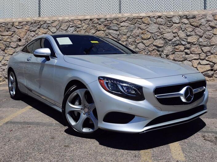2016 Mercedes-Benz S-Class 2dr Cpe S 550 4MATIC® El Paso TX