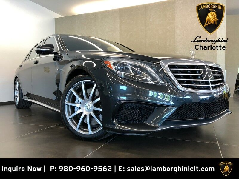 2016_Mercedes-Benz_S-Class_AMG S 63_ Charlotte NC