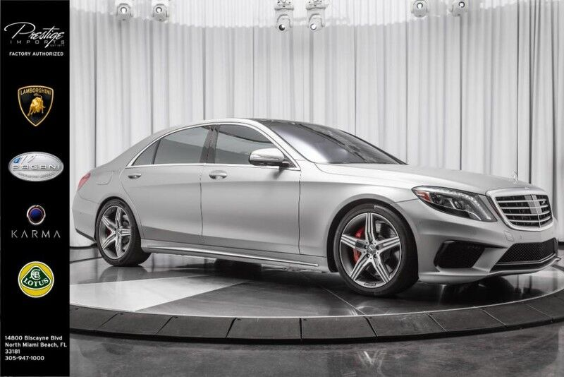 2016_Mercedes-Benz_S-Class_AMG S 63_ North Miami FL