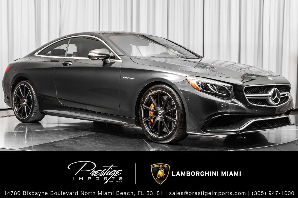 2016 Mercedes-Benz S-Class AMG S 63 North Miami Beach FL