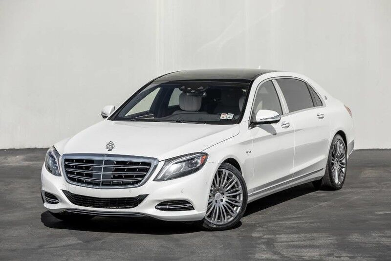 2016 Mercedes-Benz S-Class Maybach S 600 4 Place Seater Costa Mesa CA