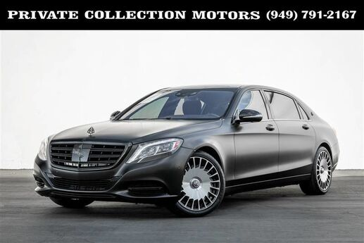 2016 Mercedes-Benz S-Class Maybach S 600 (Blackout Package) $194,865 MSRP Costa Mesa CA