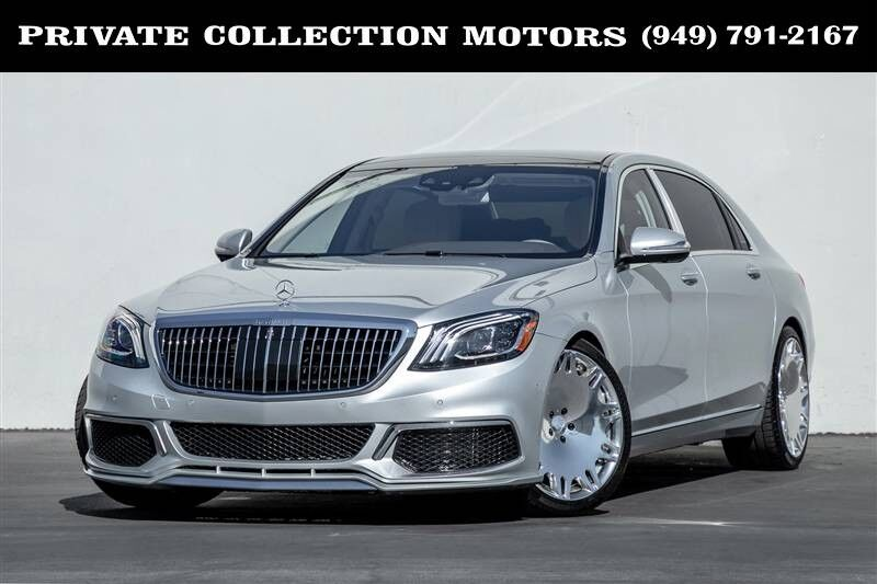 2016_Mercedes-Benz_S-Class_Maybach S 600 Lots of Upgrades_ Costa Mesa CA