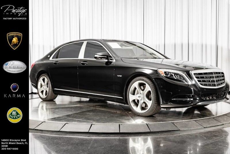 2016_Mercedes-Benz_S-Class_Maybach S 600_ North Miami Beach FL