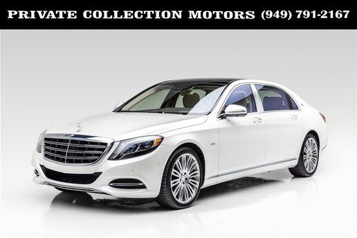 2016 Mercedes-Benz S-Class Maybach S 600 ONLY 4K MILES Costa Mesa CA
