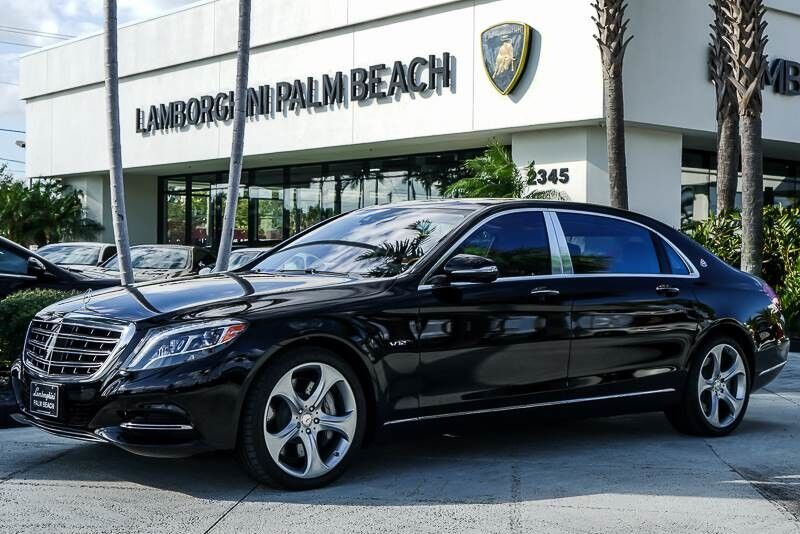2016_Mercedes-Benz_S-Class_Maybach S 600_ Palm Beach FL