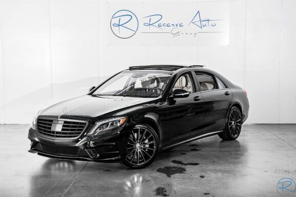 2016_Mercedes-Benz_S-Class_S 550 AMG Sport Driver Asst Pkg_ The Colony TX