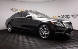 2016_Mercedes-Benz_S-Class_S 550 AMG,Rear Seat Pkg,A/C Seats.Blind Spot,360Cam_ Houston TX