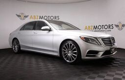 2016_Mercedes-Benz_S-Class_S 550 AMG,Warmth&Comfort Pkg,HUD,Distronic,Blind Spot_ Houston TX