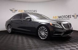 2016_Mercedes-Benz_S-Class_S 550 Blind Spot,Distronic,A/C Seats,Panoramic,360 Cam_ Houston TX