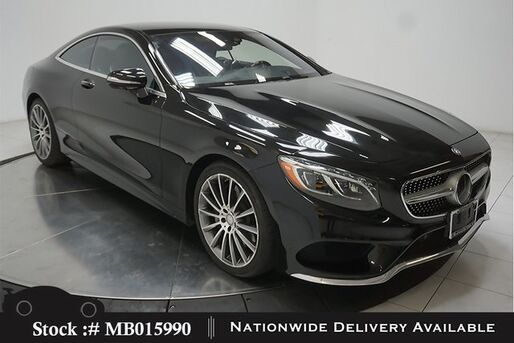 2016_Mercedes-Benz_S-Class_S 550 Coupe DISTRONC+,DRVR ASST,AMG SPORT,HEADS UP_ Plano TX