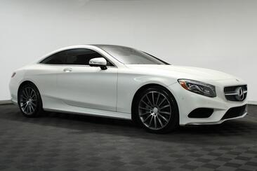 2016_Mercedes-Benz_S-Class_S 550 Coupe Sport AMG 20 Designo Interior HUD 360 Cam_ Houston TX