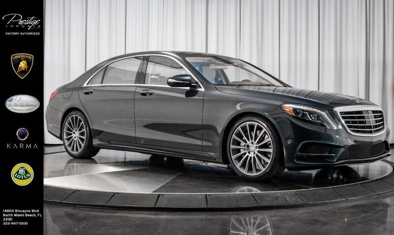 2016_Mercedes-Benz_S-Class_S 550_ North Miami Beach FL
